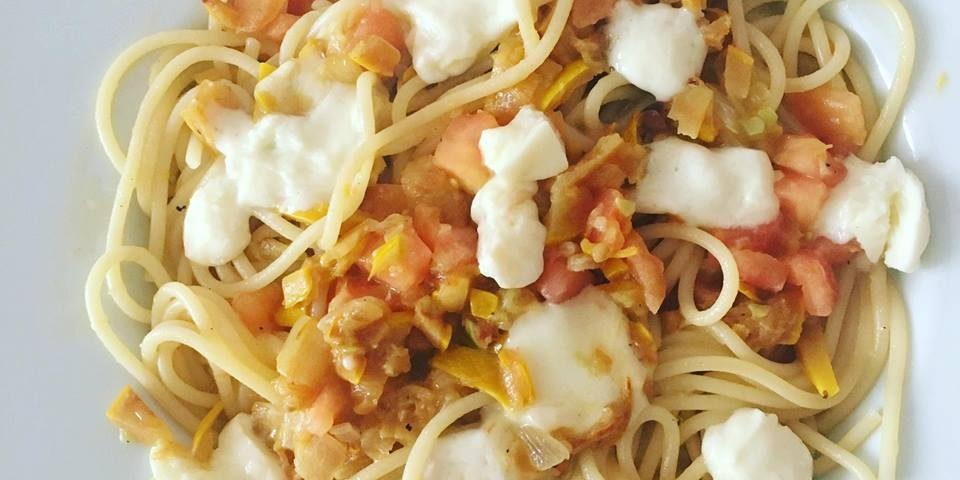 Spaguetti con Zuccini - Locas de la vida, recetas fáciles y rápidas de preparar
