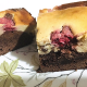 Brownie Cheesecake con frambuesas de Marisa Medina - Locas de la vida, recetas fáciles y rápidas de preparar