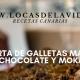 Tarta de galletas María, chocolate y moka   Locas de la vida, Blog de recetas de cocina para principiantes, recetas fáciles y rápidas de preparar