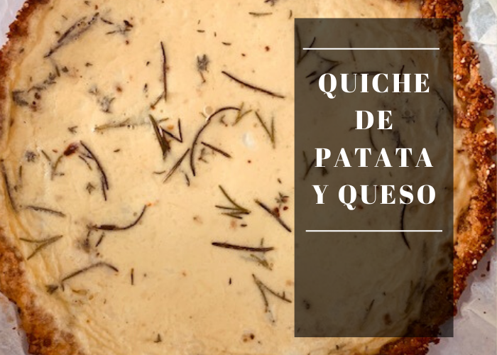 Receta de Quiche de Patata y Queso | Locas de la vida, recetas fáciles y rápidas