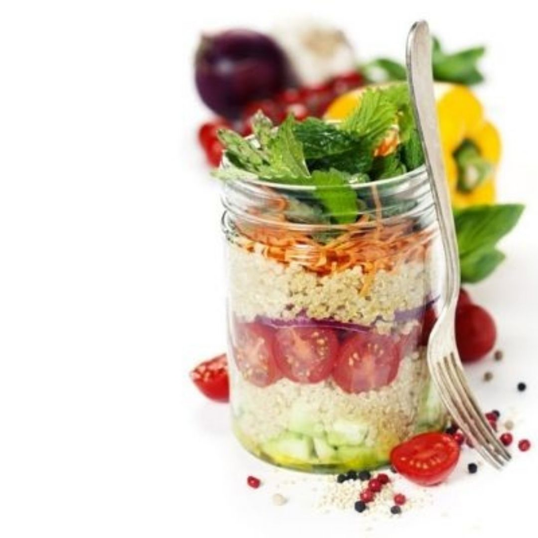 Ensalada de Quinoa Locas de la vida Recetas de cocina para principiantes fácil y rápidas de preparar