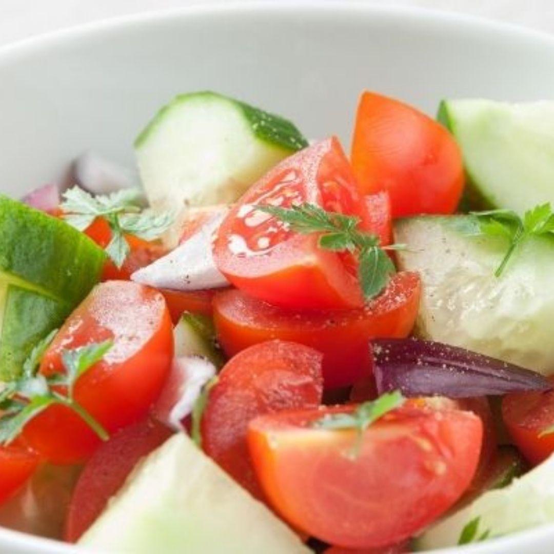 Ensalada de pepino Locas de la vida Recetas de cocina para principiantes fácil y rápidas de preparar