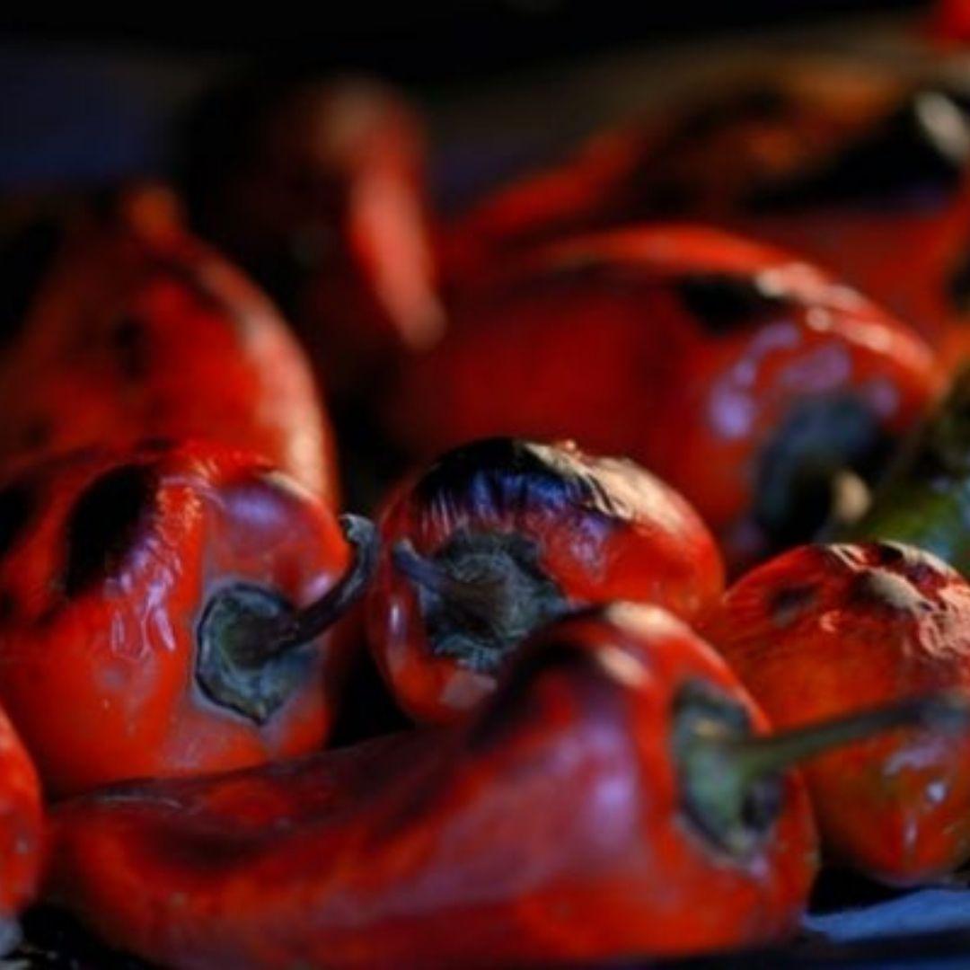 Pimientos asados | Locas de la vida | Recetas de cocina para principiantes fácil y rápidas de preparar
