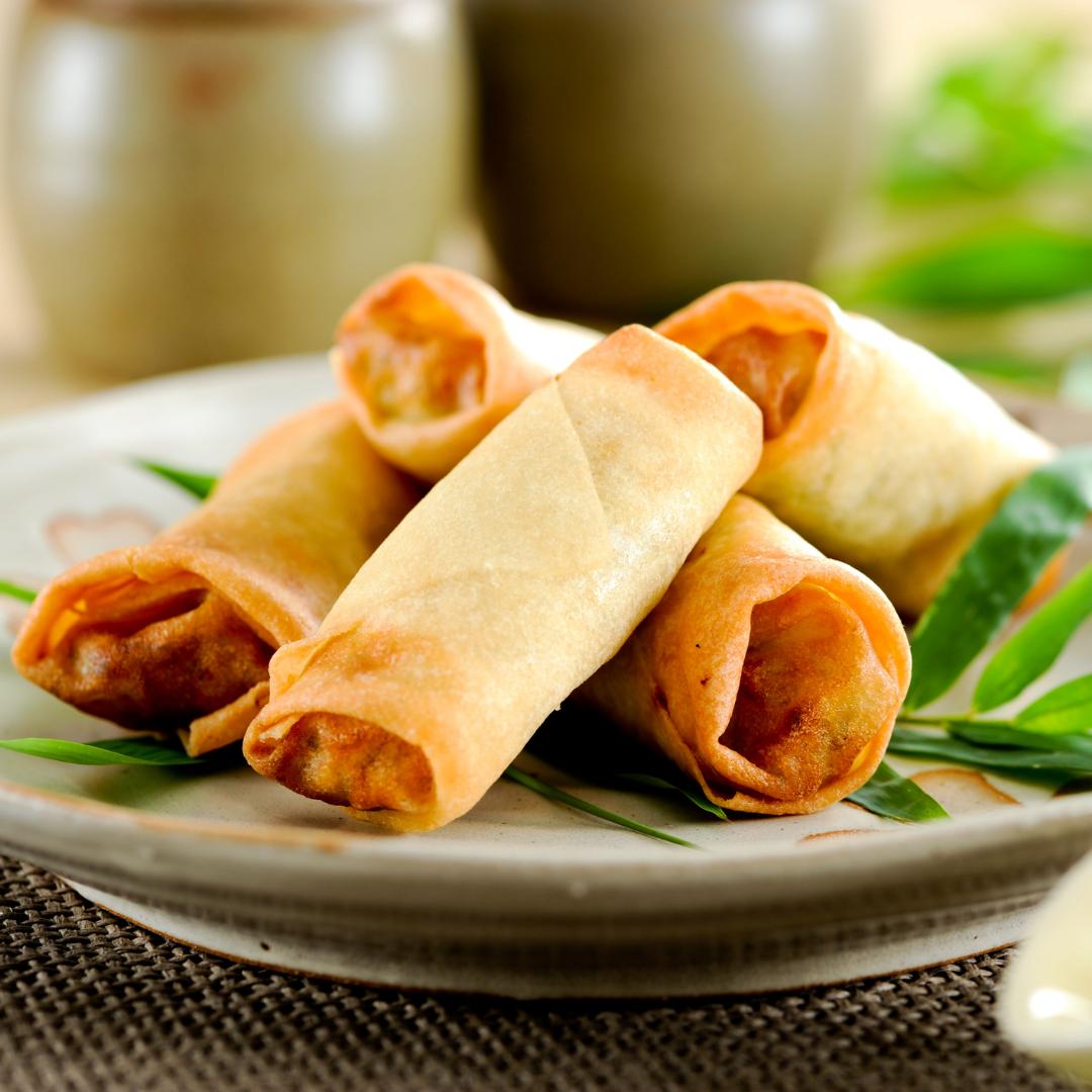Rollitos de primavera | Locas de la vida Recetas de cocina para principiantes fácil y rápidas de preparar