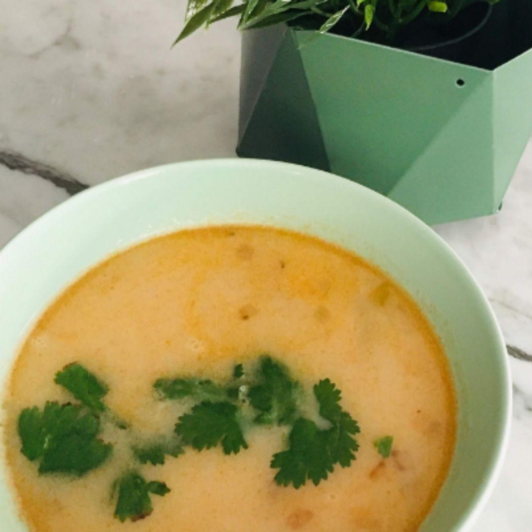 Sopa picante Tailandesa de calabaza | Locas de la vida, recetas fáciles y rápidas de preparar